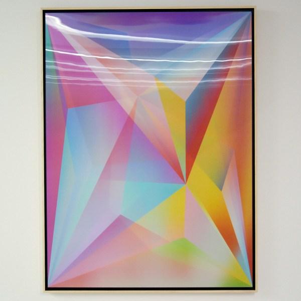 Rafael Rozendaal - Into Time 13 09 12 - 120x90cm Lenticular print, 2012