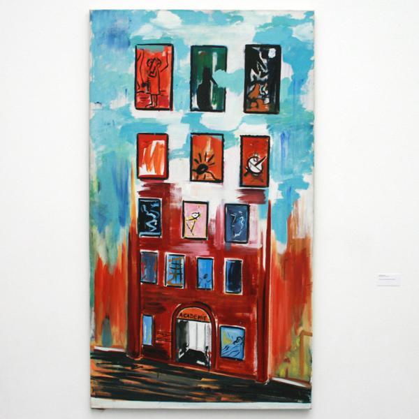 Rene Daniels - Academie - Olieverf op canvas