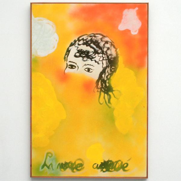 Rene Daniels - De Geamuzeerde Muze - Olieverf op canvas