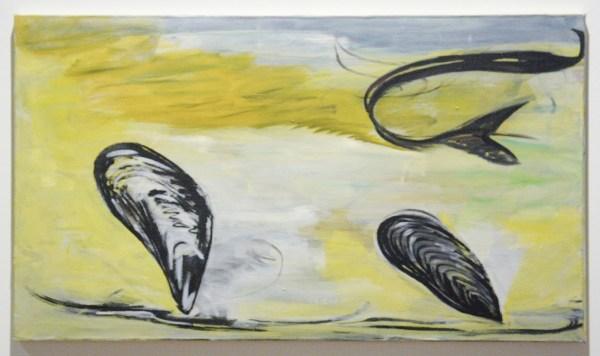 Rene Daniels - La Muse Venale - Olieverf op doek, 1979-1980