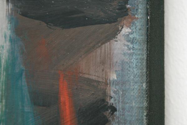 Rene Daniels - Zonder Titel - Olieverf op doek (detail)