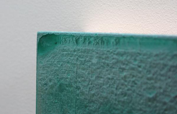 Rene Korten - Peel 3 - 28x35cm Acrylverf op masoniet (detail)