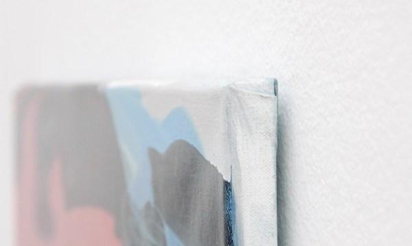 Rezi van Landveld - EenTweeDrie - 55x48cm Olieverf op canvas (detail)