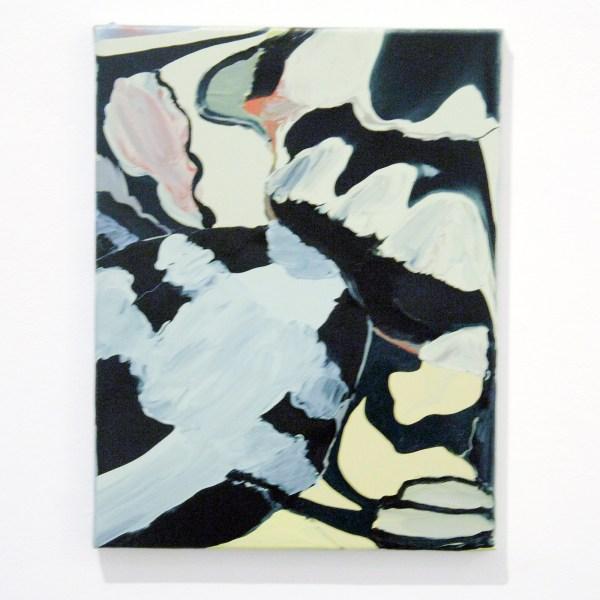 Rezi van Lankveld - Fire and Ice - 45x35cm Olieverf op canvas