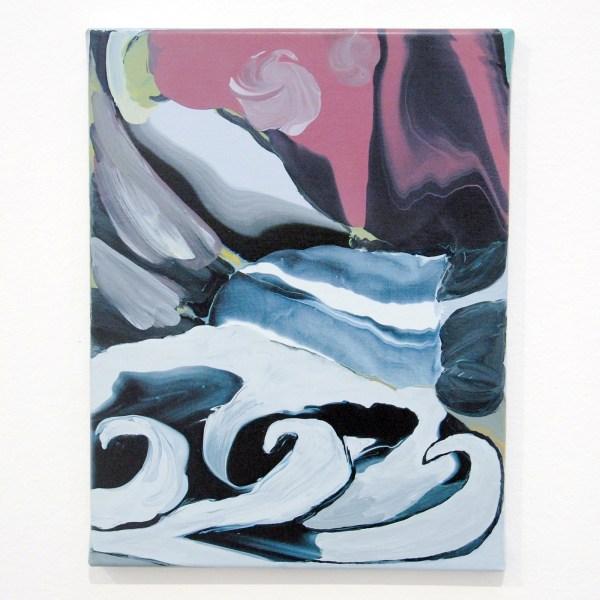 Rezi van Lankveld - Starry Night - 45x35cm Olieverf op canvas