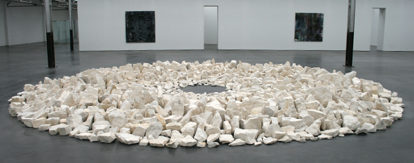 Richard Long - Planet Circle - Franse Kalksteen