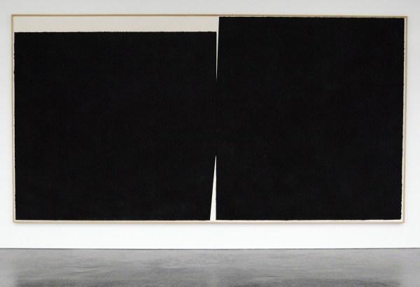 Richard Serra - Olmec - Paintstick op papier