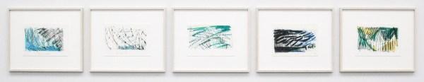 Robert Zandvliet - 203 x 369 - Grafiet en oliepastel op papier, 5 van 23 bladen