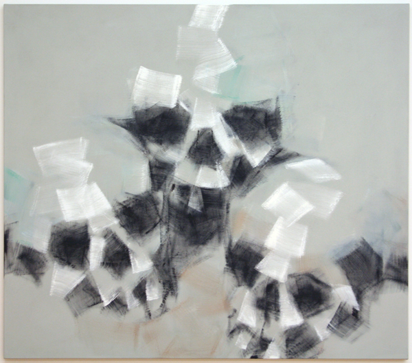 Robert Zandvliet - Pyramides de Cranes - Eitempera op linnen