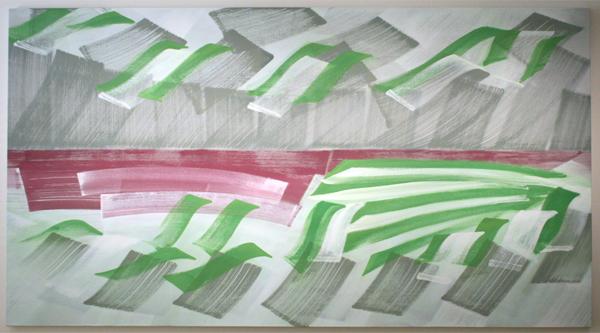 Robert Zandvliet - Zonder Titel - Eitempera op doek