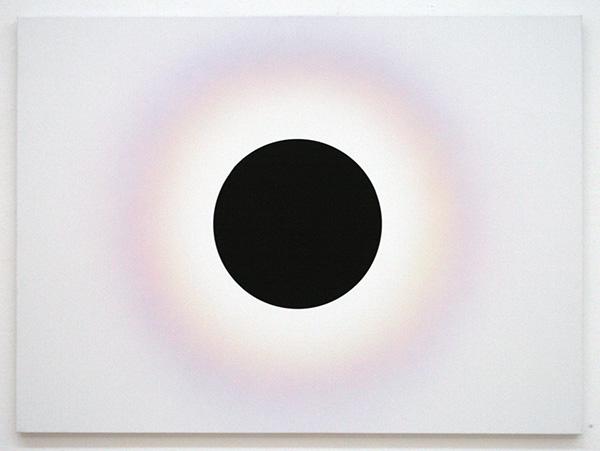 Roland Schimmel - Black Sun - 100x135cm