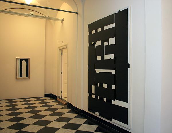 Ronald de Bloeme - Read Between the Lines - Matte en Hoogglanslak op doek