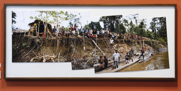 Roy Villevoye - All the People of Ti - Inkjet op lompenpapier (oplage 5) €4370,-