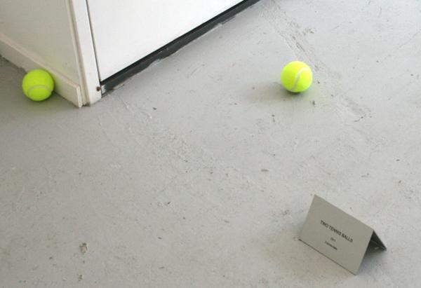 Rumiko Hagiwara - #2 One Tennis Ball, Two Tennis Balls - Twee tennisballen en een titelbordje