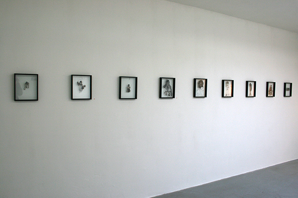 Saminte Ekeland - Diverse titels - 31x25cm Borduursels met polyesther, acryl, nylon, garen en panty