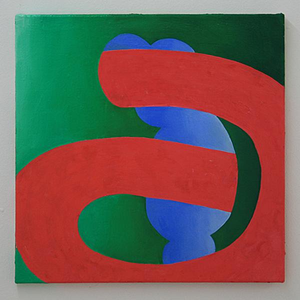 Sarah Verbeek - Untitled - 50x50cm Olieverf op canvas