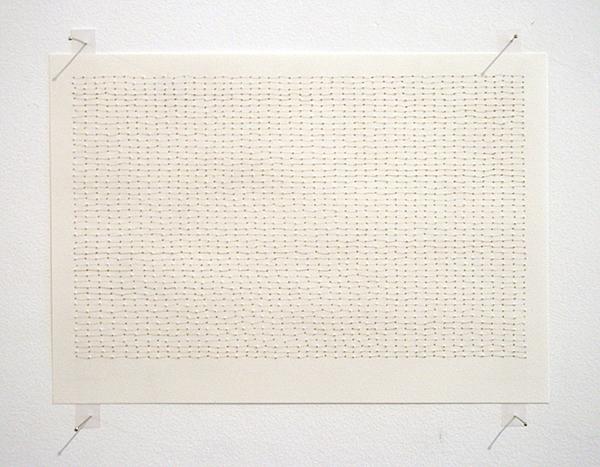 Sarah van der Lijn - Horizontaal - 15x21cm Haar van de kunstenaar en papier