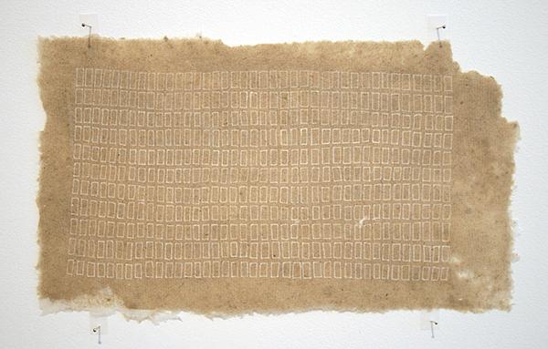 Sarah van der Lijn - Witte inkt - 15x26cm Witte inkt op geschept papier