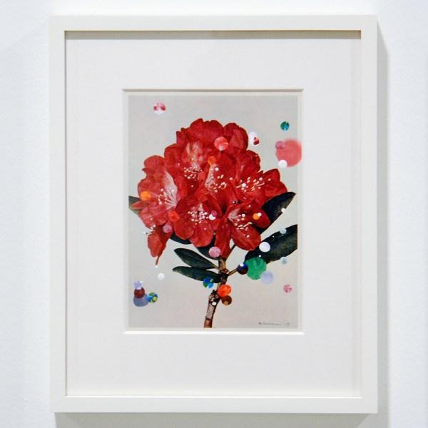 Sebastiaan Bremer - Bloemen Series - Ieder 13x18cm, 21 delen Beschilderde pagina's van bloemen boek (detail)