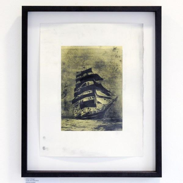 Stefan a Wengen - Zonder Titel 20,XII,2012 - Potlood op papier