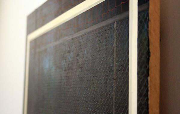 Thijs Jansen - De Amateurs - 40x50cm Olieverf en acrylverf op paneel (detail)