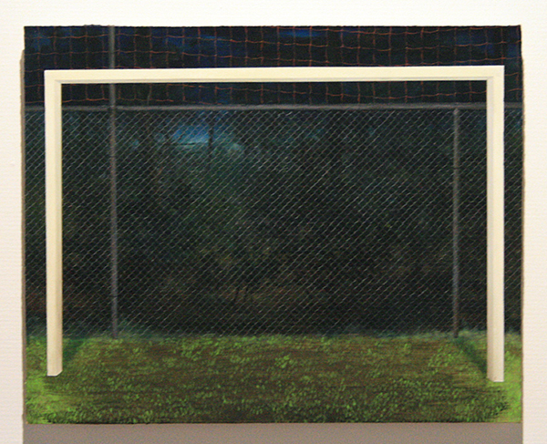 Thijs Jansen - De Amateurs - 40x50cm Olieverf en acrylverf op paneel