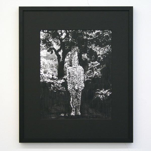 Thijs Zweers - Hain Spirit - 32x40cm Grafiet op papier