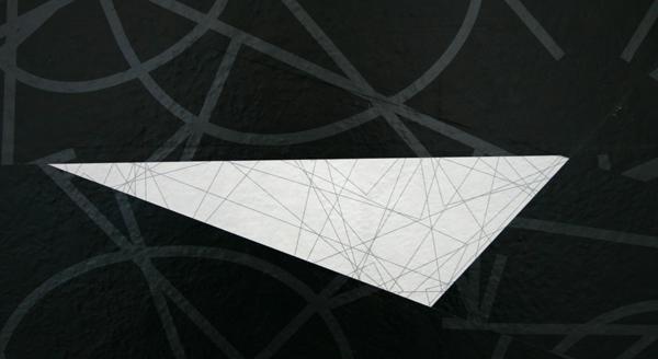 Thomas I'Anson - Something Mattered - 380x310cm 3 kleuren offset litho (50x50cm per stuk) (detail)