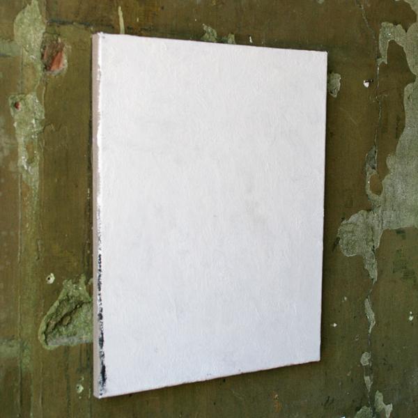 Thomas Rameckers - Zonder Titel - 40x50cm Olieverf op gips op linnen