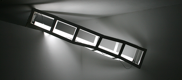 Tijl Orlando Frijns - White Construction With Fluorescent Lamp