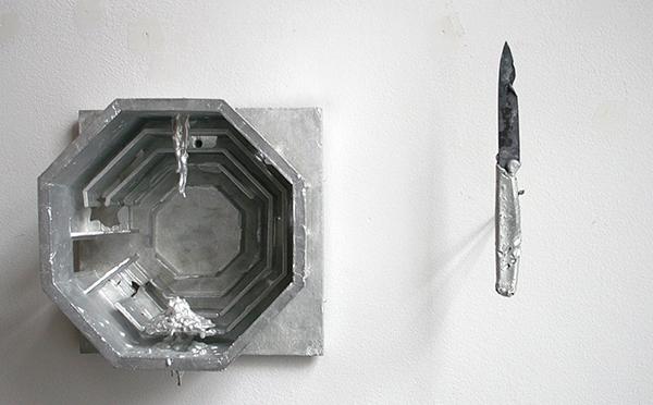 Tim Breukers - Anatomische les van Dr Breukers - 20x20x11cm & 18x2x1cm Aluminium