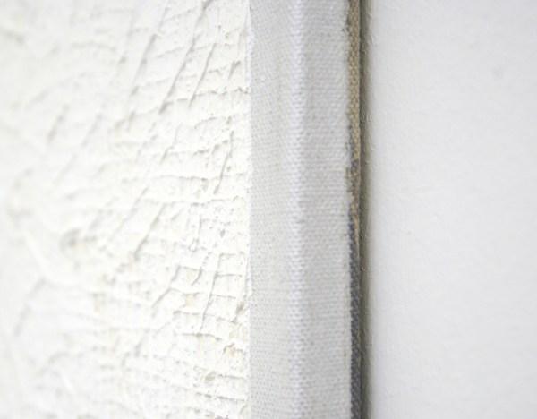 Tomas Rajlich - Zonder Titel (lu-pan) - 160x80cm Acrylverf op linnen (detail)