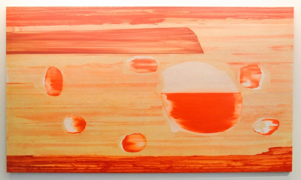 Toon Verhoef - Untitled - 140x250cm Acrylverf en olieverf op canvas, 2008