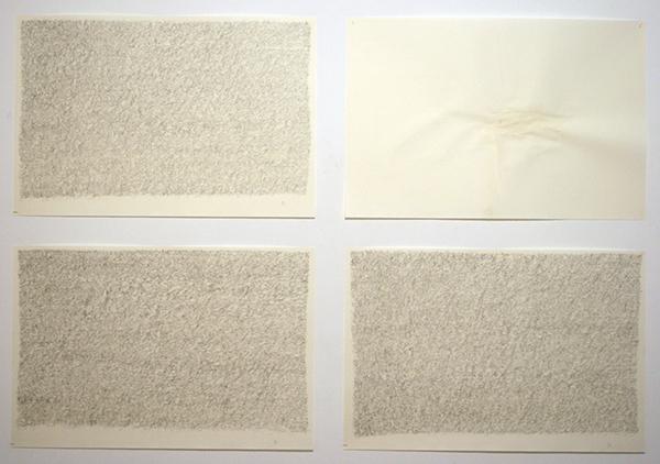 Toon van Borm - The Witness - 64x96cm Potlood op papier