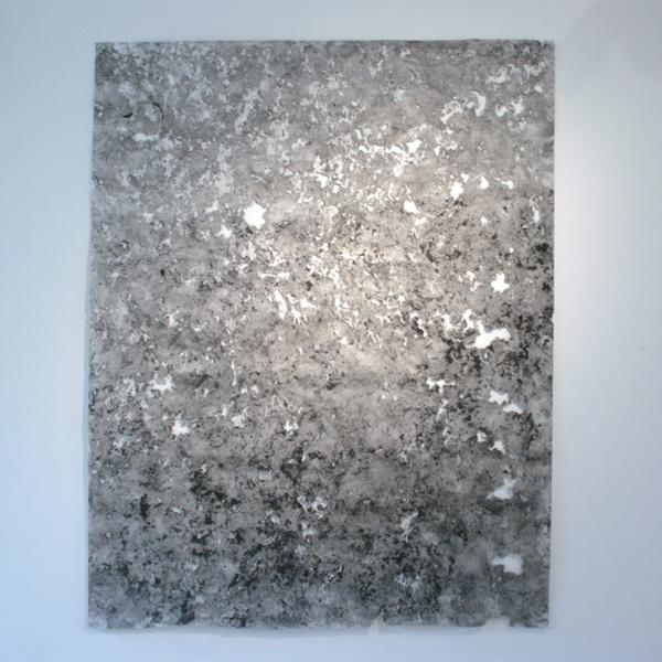 Vera Witleer - ZT025 - 188x150cm Gemengde techniek op papier