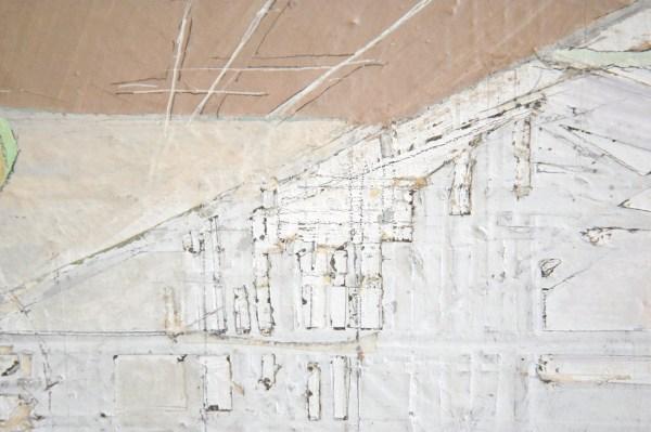 Veron Urdarianu - Flying Carpet - 50x60cm Olieverf op linnen (detail)