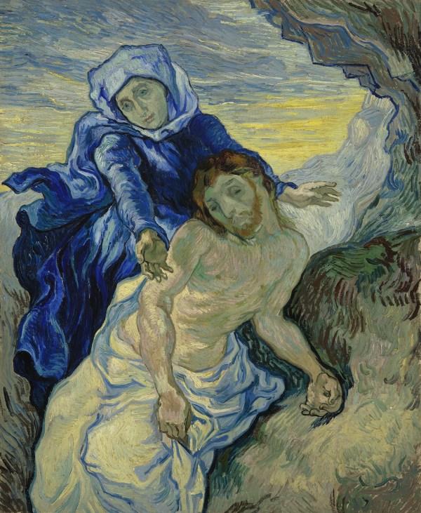 Vincent van Gogh - Pieta - 73x61cm Olieverf op canvas