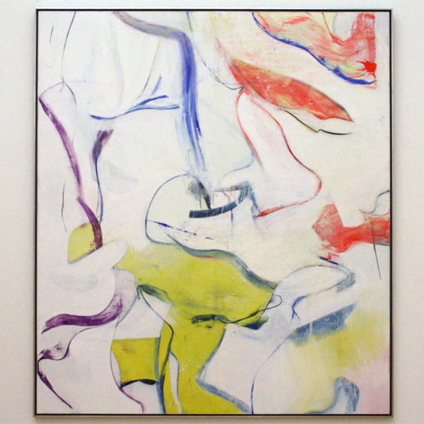 Willem de Kooning - Morning The Springs - Olieverf op doek