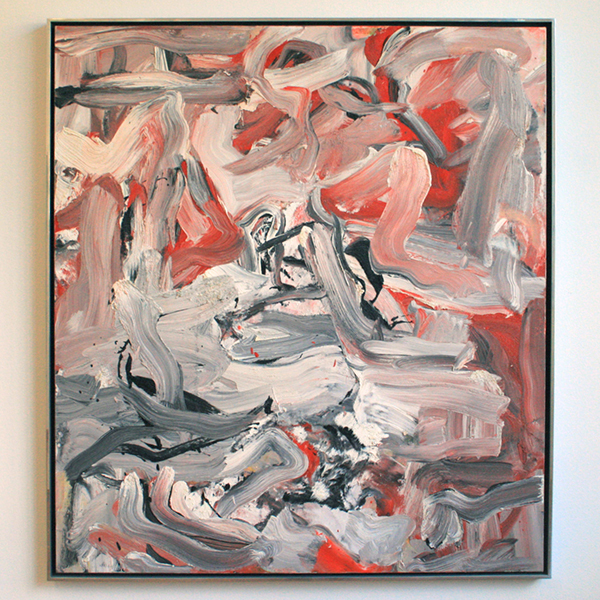 Willem de Kooning - Untitled XVI - 153x138cm Olieverf op doek
