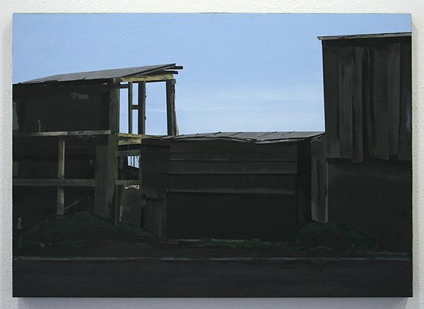 Wim Claessen - Barn - 50x70cm Acrylverf op MDF