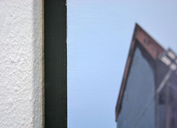 Wim Claessen - Silent City - 50x70cm Acrylverf op MDF (detail)