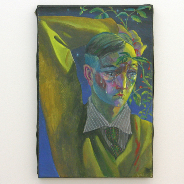 Yuri Rodekin - Black Dawn - 45x30cm Olieverf op canvas