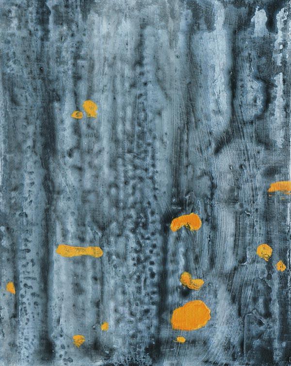 Giel Louws - Bark 1 - 24x30cm Acrylverf op canvas
