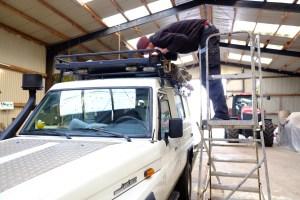 LOST TRACK Reiseblog Toyota Land Cruiser HZJ 78 Hannibal Markise Weltreise Vorbereitungen