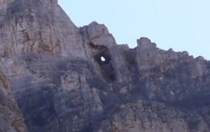One of the many eyes of the Caballos, if you know where to look.