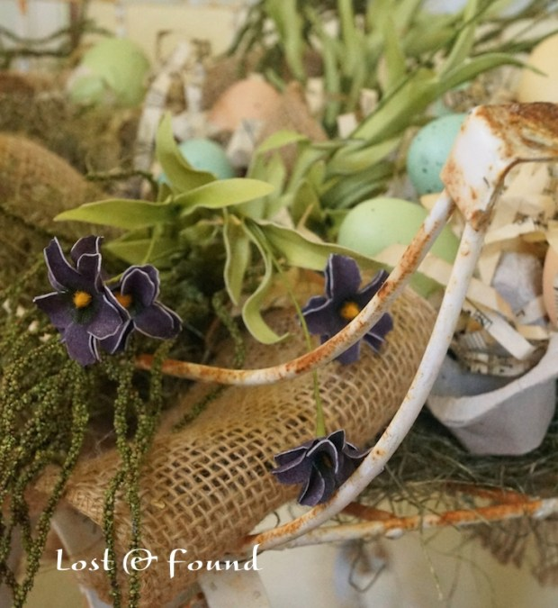 Spring Centerpiece Sleigh