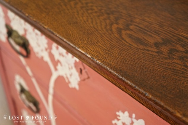 milk paint dresser furniture makeover