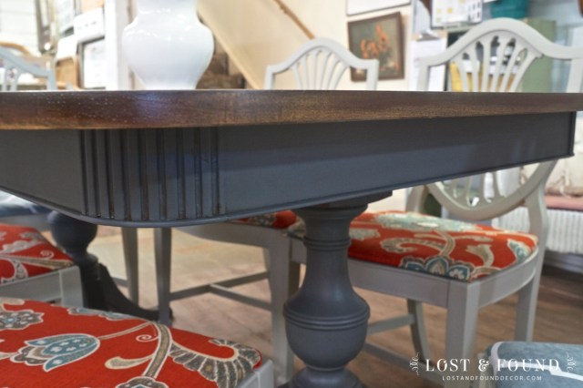 Duncan Phyfe Style Dining Set [Furniture Makeover] | Lost & Found