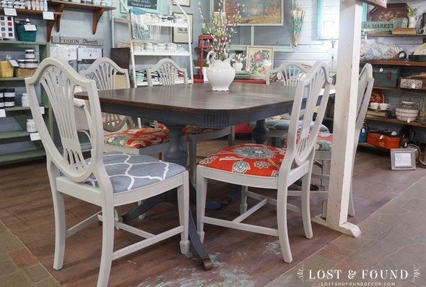 Soapstone and Bedford Dining Set