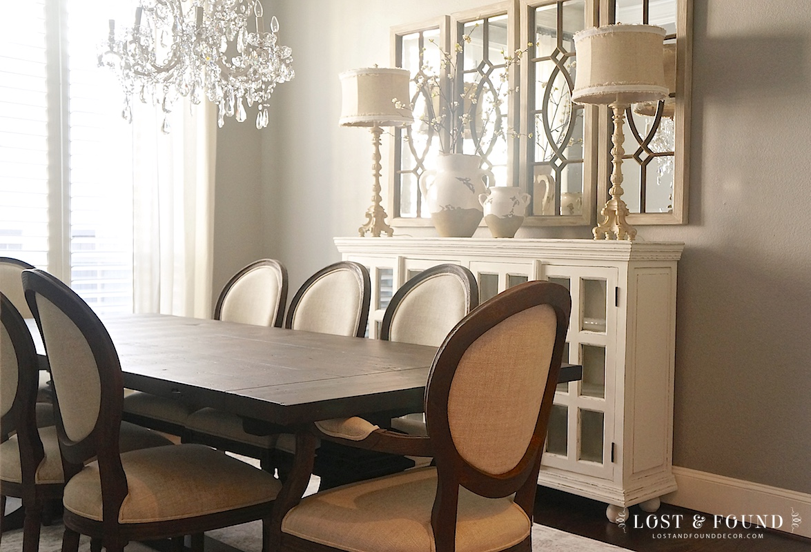 Painted White Dining Room Buffet